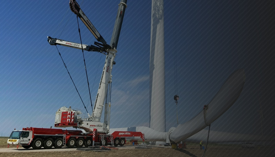 RMS Cranes. Crane rental and rigging in Denver, Colorado