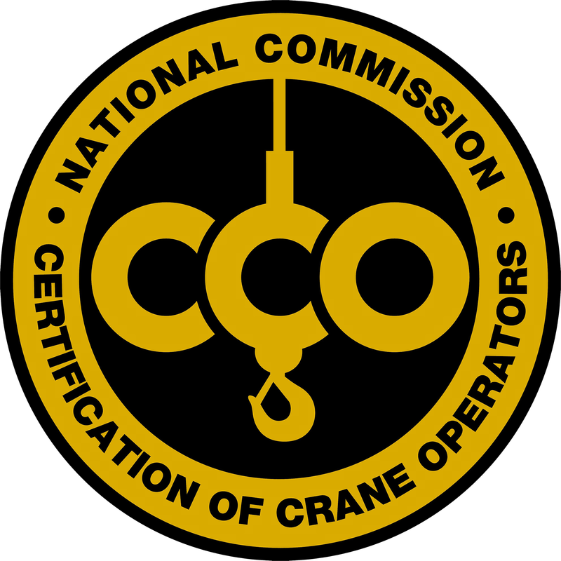 RMS Cranes operators are all NCCCO certified